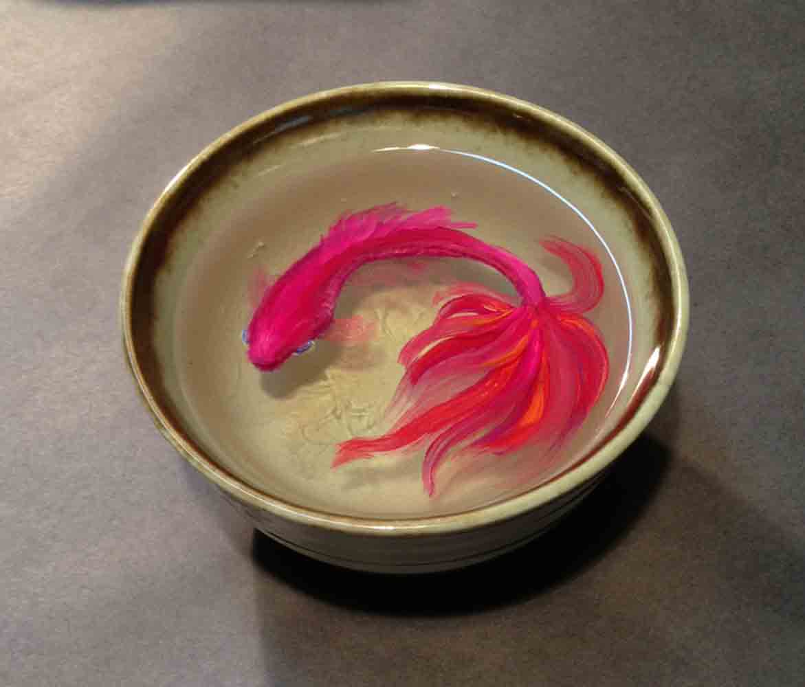 Siamese Fighting Fish Bowl